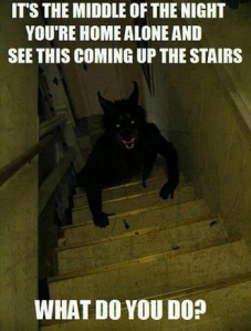 werewolf-on-the-stairs